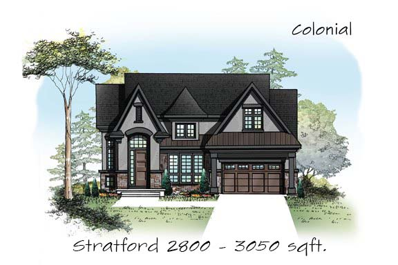 Bk cornerstone model homes